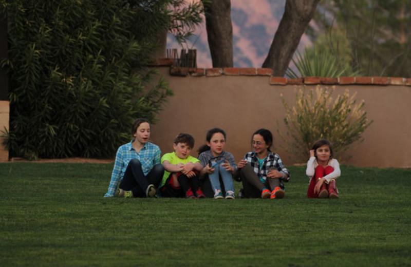 Kids at Circle Z Ranch.
