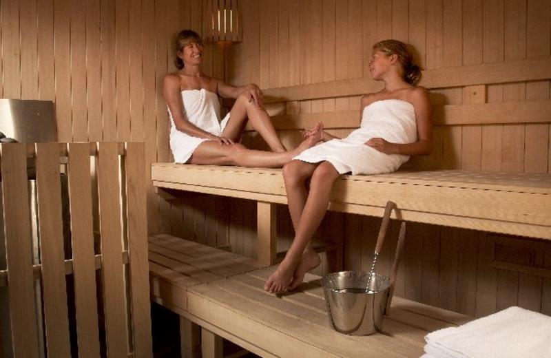 Sauna at The Green Mountain Inn.