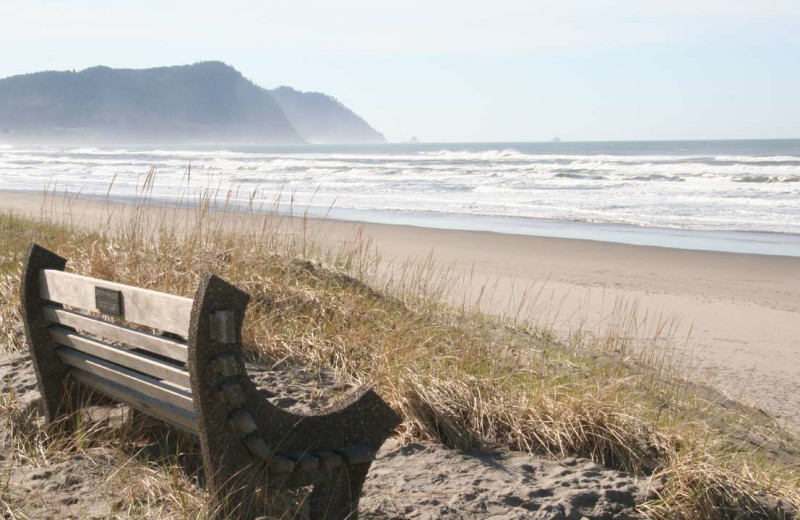 Beach at Gearhart by the Sea.