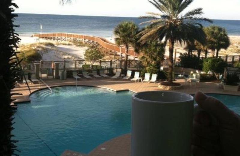 Outdoor pool at The Beach Club Gulf Shores.
