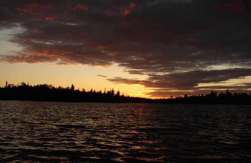 Sunrise at Rockwood Lodge.