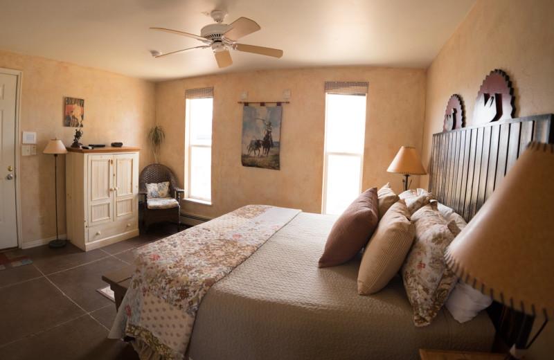 Guest room at SkyRidge Inn.