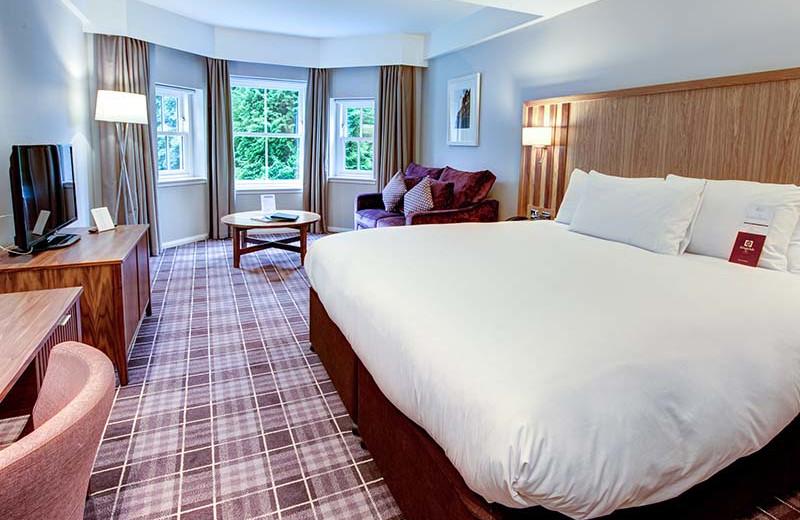 Guest room at Kingsmills Hotel.