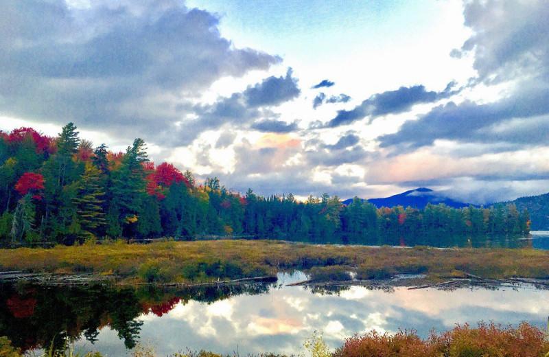 Lake view at Placid Bay Inn.