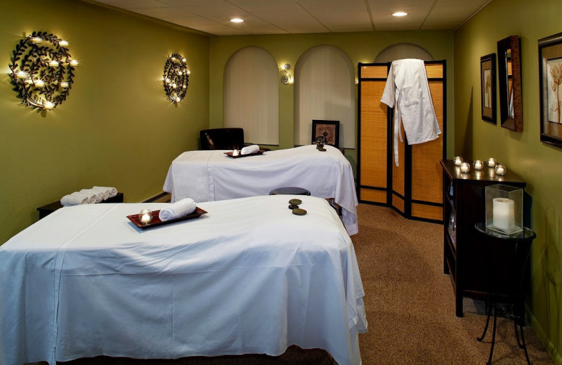 A spa is available at Cove Haven, Pocono Palace and Paradise Stream Resort.