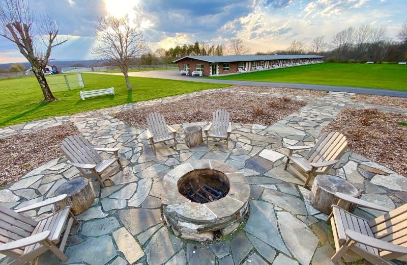 Exterior view of Lukan's Farm Resort.