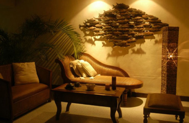 Sitting area at Vista del Mar Boutique Hotel.