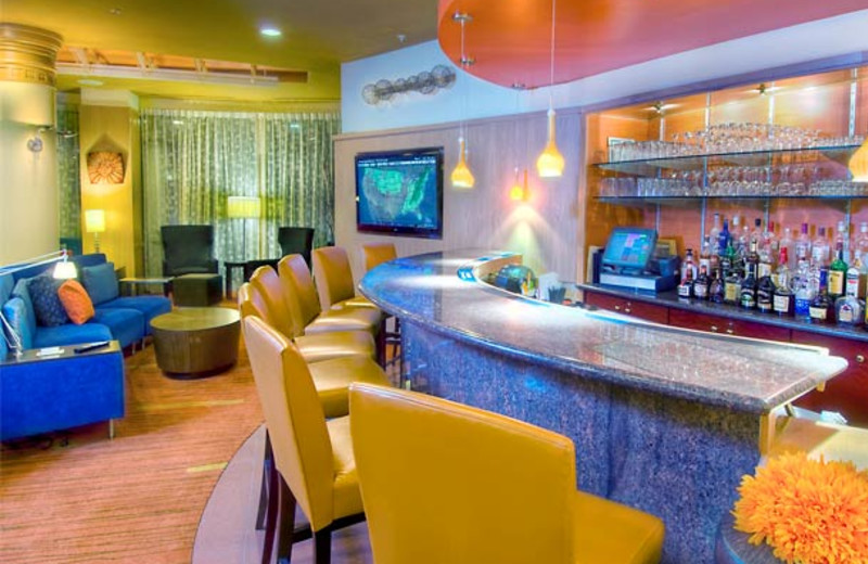 Bar Area at the Courtyard Middletown