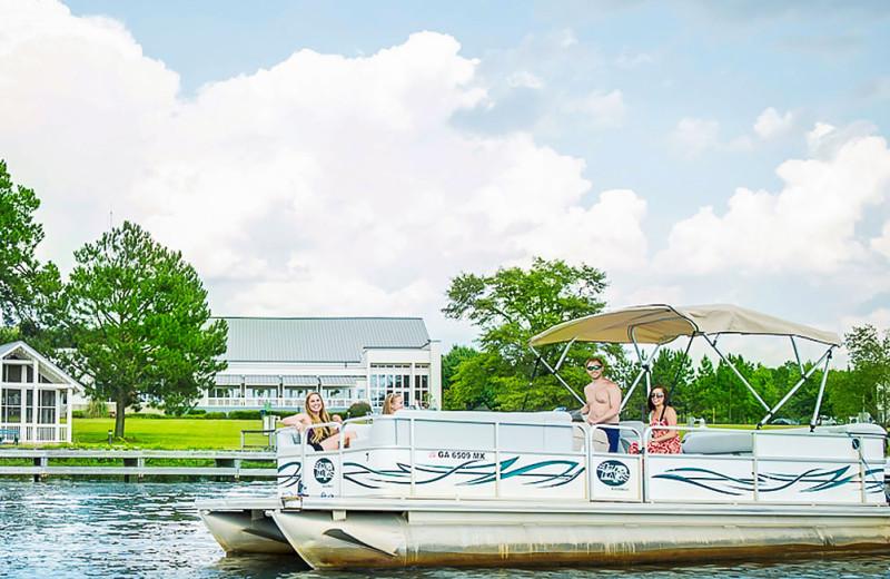 Lake at Lake Blackshear Resort & Golf Club.
