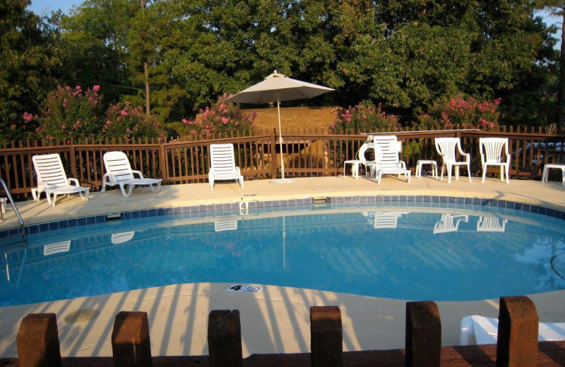 Outdoor pool at Rocky Branch Resort.