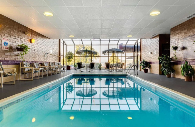 Indoor pool at Harbor Shores on Lake Geneva.
