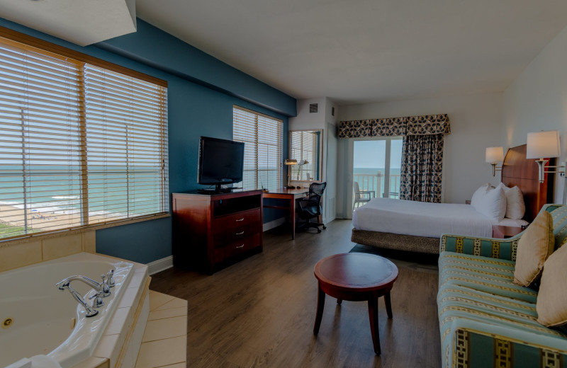 Guest room at Hilton Garden Inn Outer Banks/Kitty Hawk.