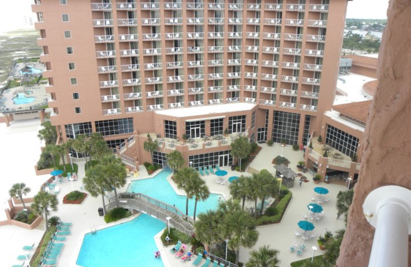 Outdoor pool at Perdido Beach Resort.