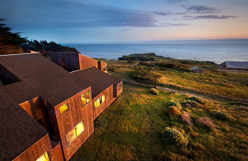 Exterior view of Sea Ranch Lodge.