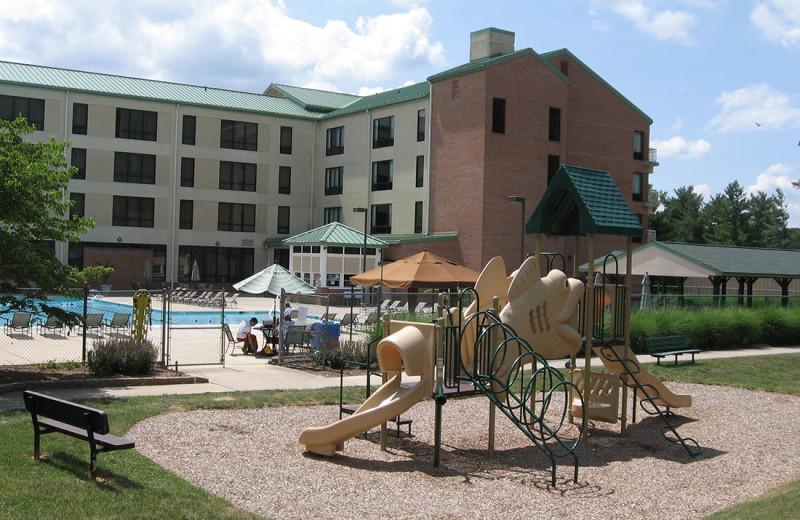 Outdoor Playground at Turf Valley Resort