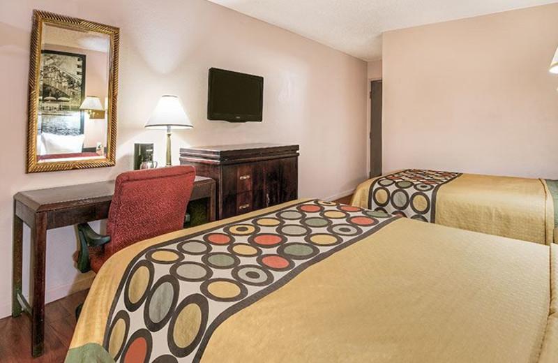Guest Room at Super 8 San Antonio