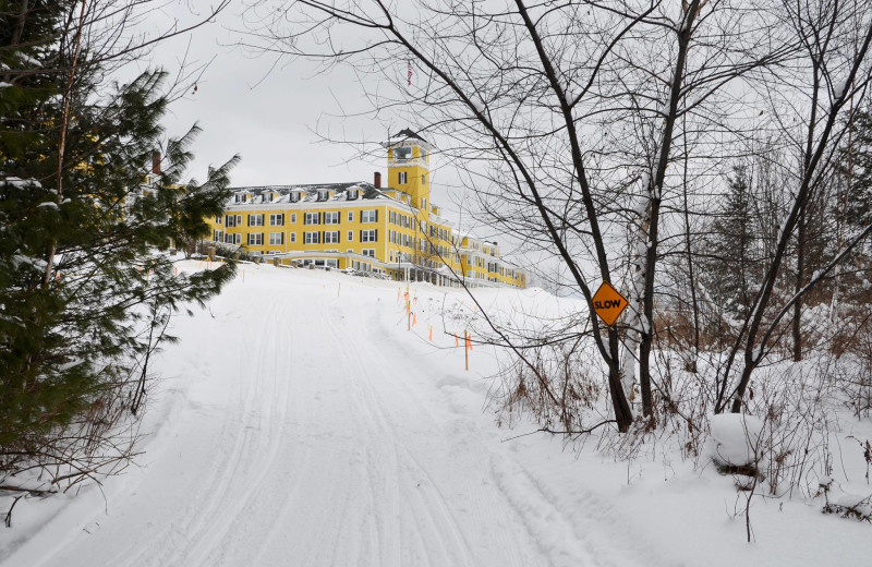 Winter view of Mountain View Grand Resort & Spa.