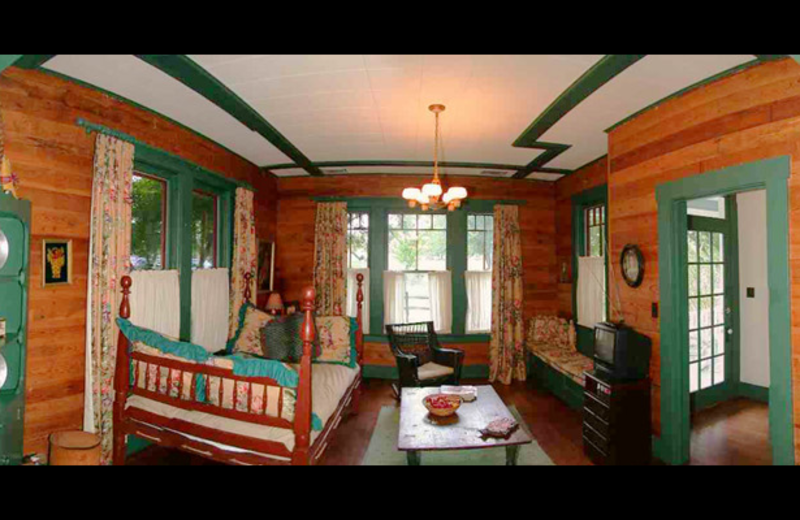 Baag Farm House living room at Settlers Crossing.