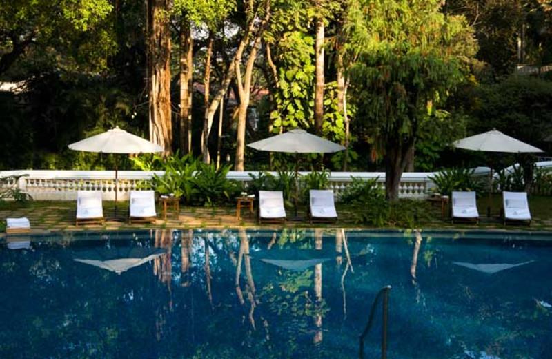 Swimming pool at The Taj West End.