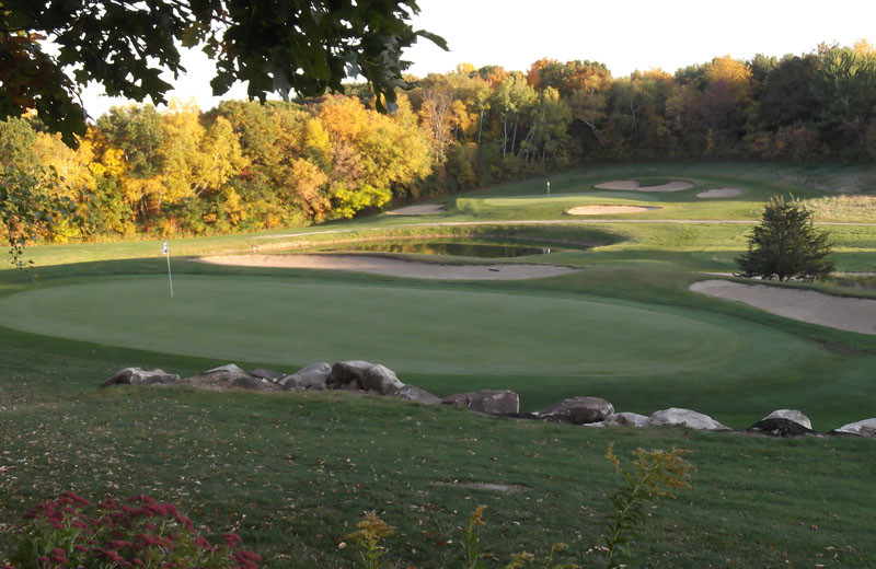 Golf course at Devils Head Resort & Convention Center.