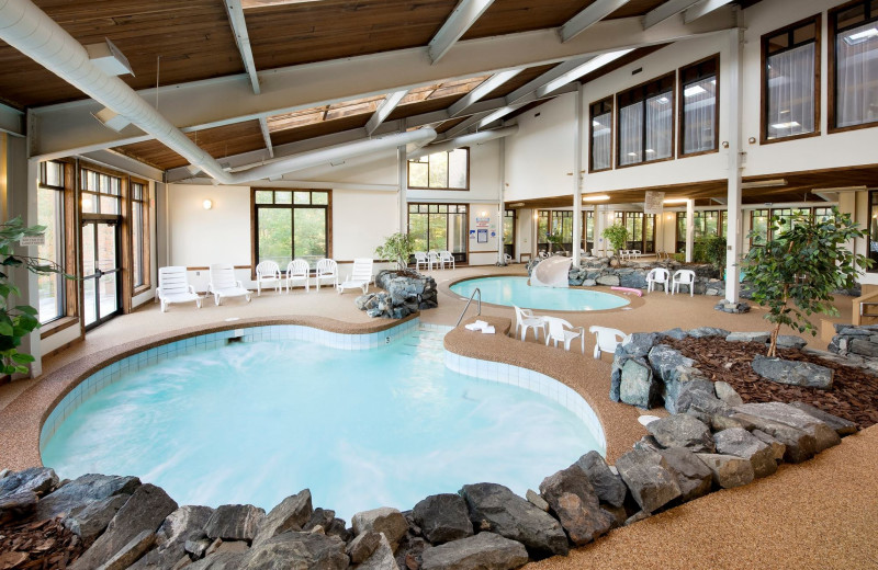 Indoor pool at the Summit Resort.