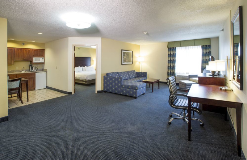 guest room at Holiday Inn Express Hotel & Suites - St. Joseph.
