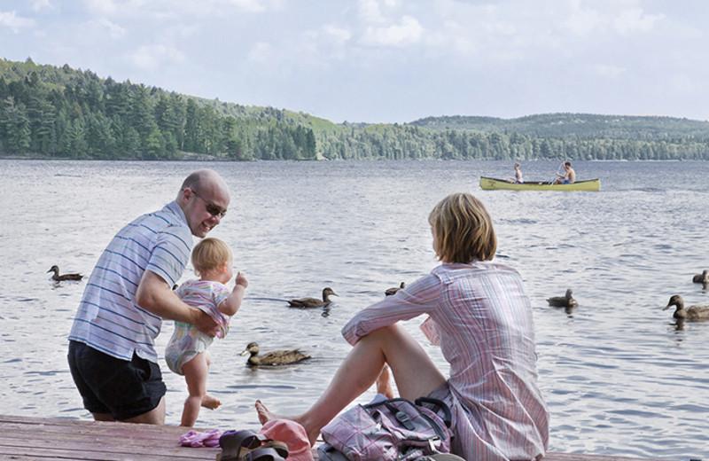 Family Time on the Lake at Killarney Lodge