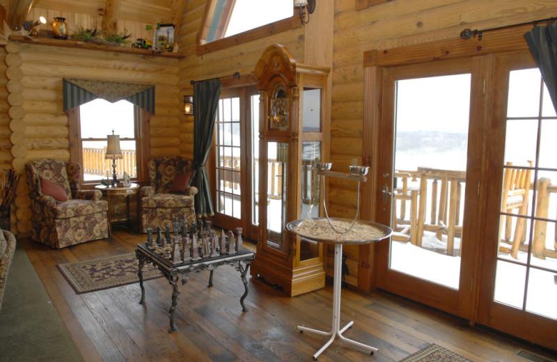 Interior view at Pine Lakes Lodge.