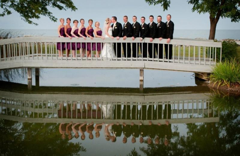 Wedding party at Sawmill Creek Resort.