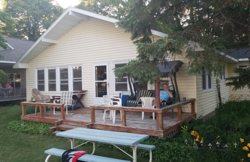 Cabin at Fraser's Arbor Resort.