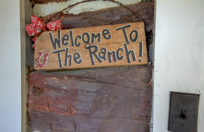 Welcome sign to River Orchard Place.