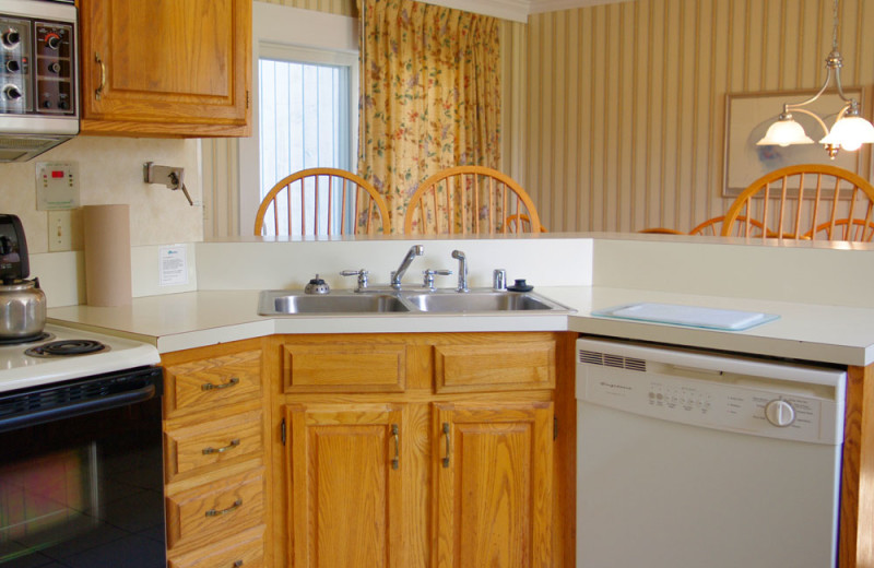 Townhouse kitchen at Stoweflake Mountain Resort & Spa.