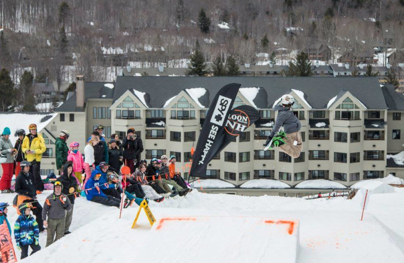 Exterior view of The Mountain Club on Loon.