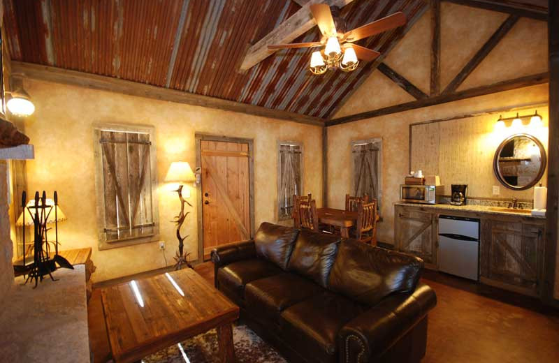 Cottage interior at Country Inn.
