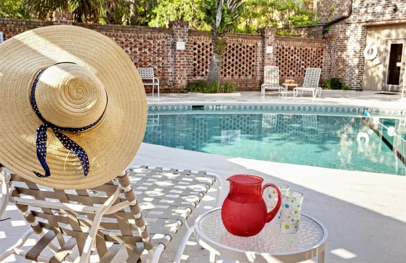 Outdoor pool at Best Western Sea Island Inn.
