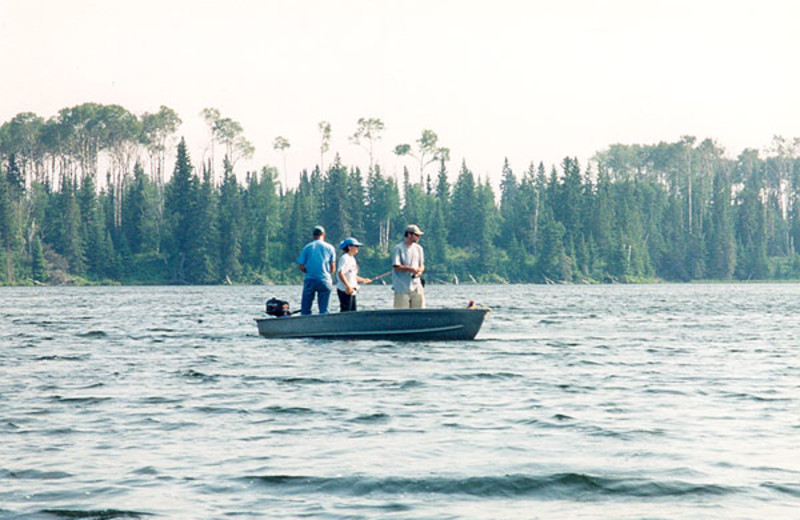 Fishing at Five Mile Lake Lodge