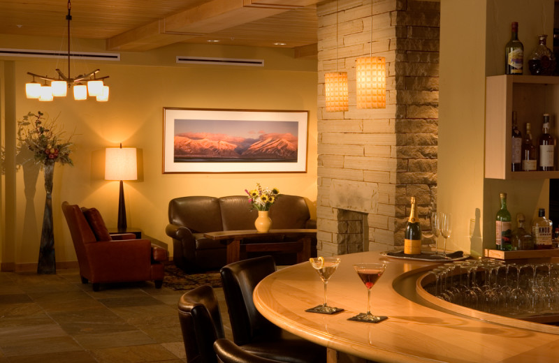 Dining at Edelweiss Lodge and Spa.