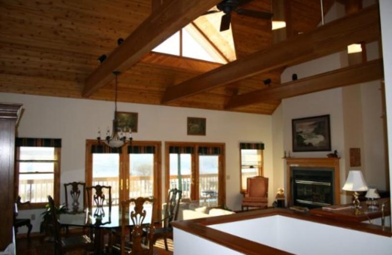 Interior view at Seneca Springs Resort.