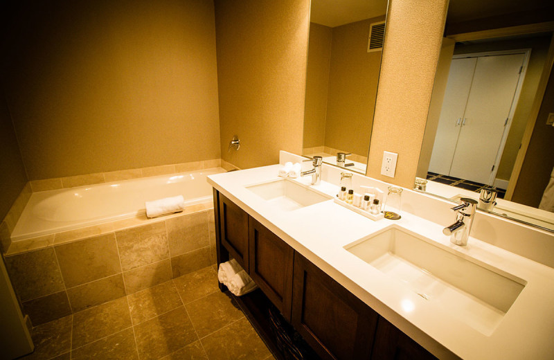 Bathroom at The Grand Hotel.