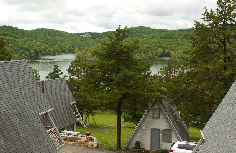 Cabins at Alpine Lodge Resort.