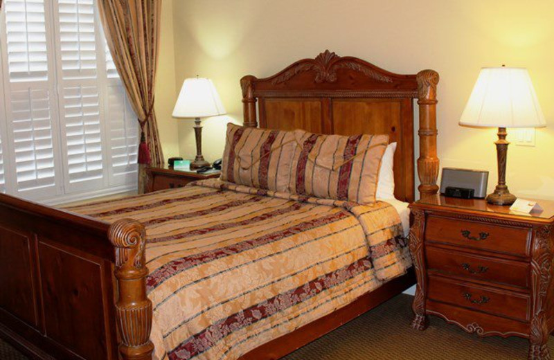 Guest room at Bel Abri.
