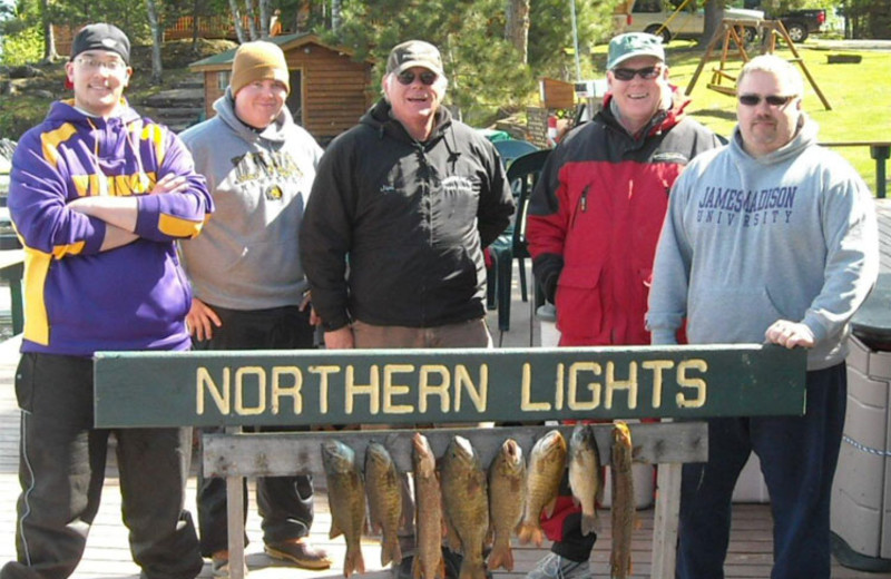 Fishing at Northern Lights Resort Outfitting & Youth Quest.