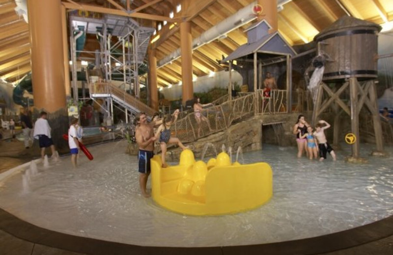 Wild Wood Water Park at Holiday Inn Minneapolis.