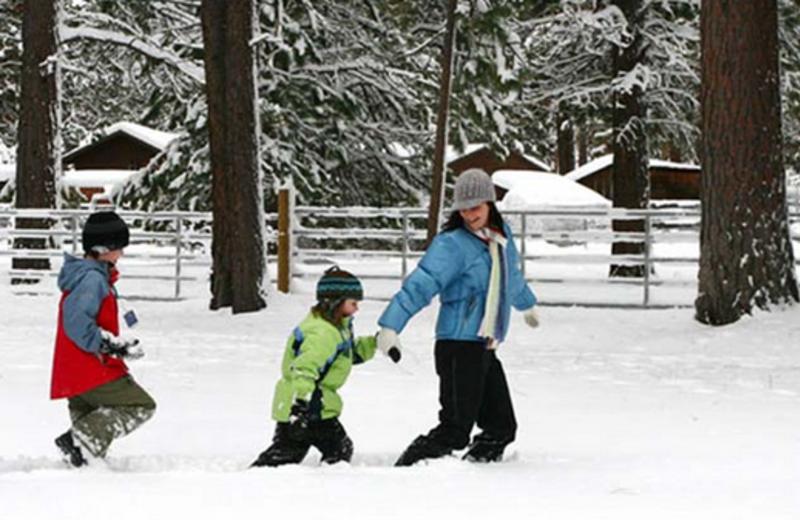 Family Winter Fun at Seventh Mountain Resort