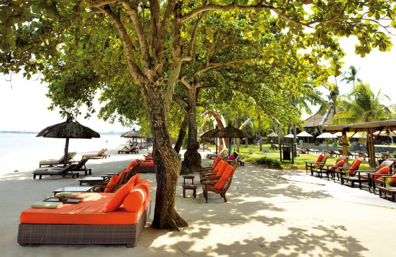 The beach at Pansea Puri Bali.