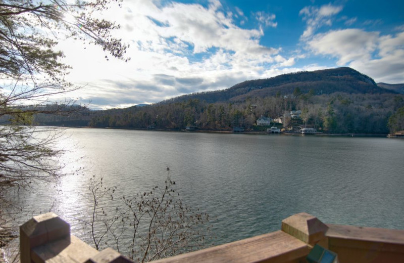 Rental lake view at Pinnacle Sotheby's International Realty.