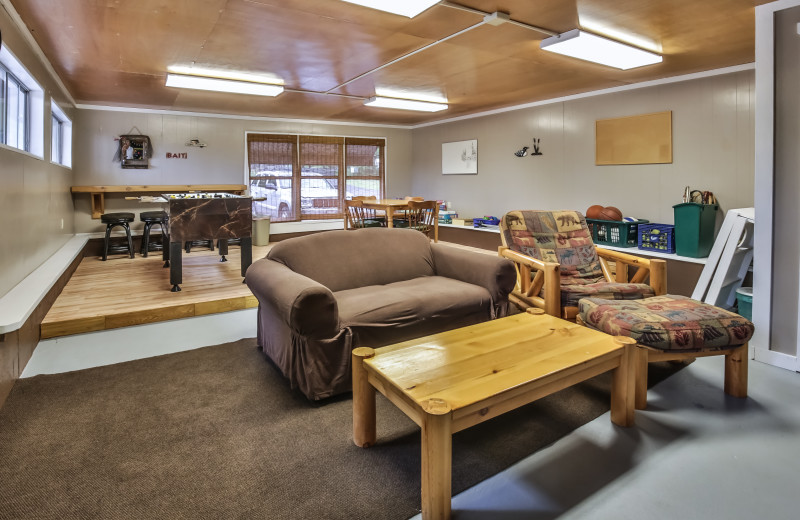 Living room at Serenity Bay Resort.
