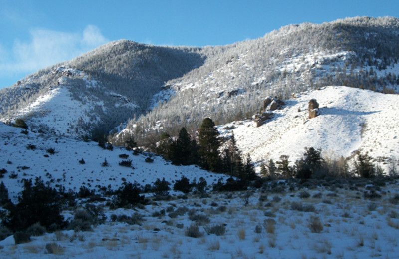 Winter near Bill Cody Ranch