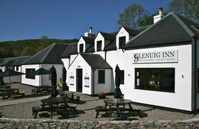 Exterior view of Glen Uig Inn.