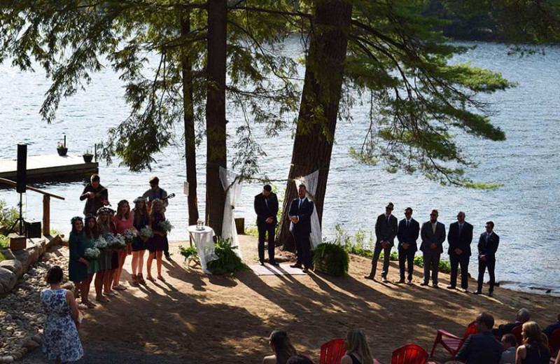 Wedding at White Lake Lodges.